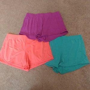 Set of 3 Lounge Shorts